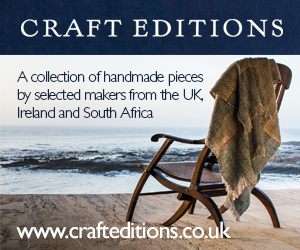 craft advert with armchair looking out to horizon