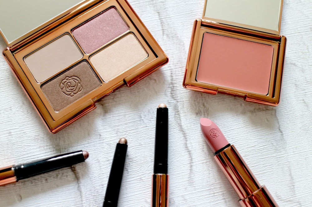 selection of make-up
