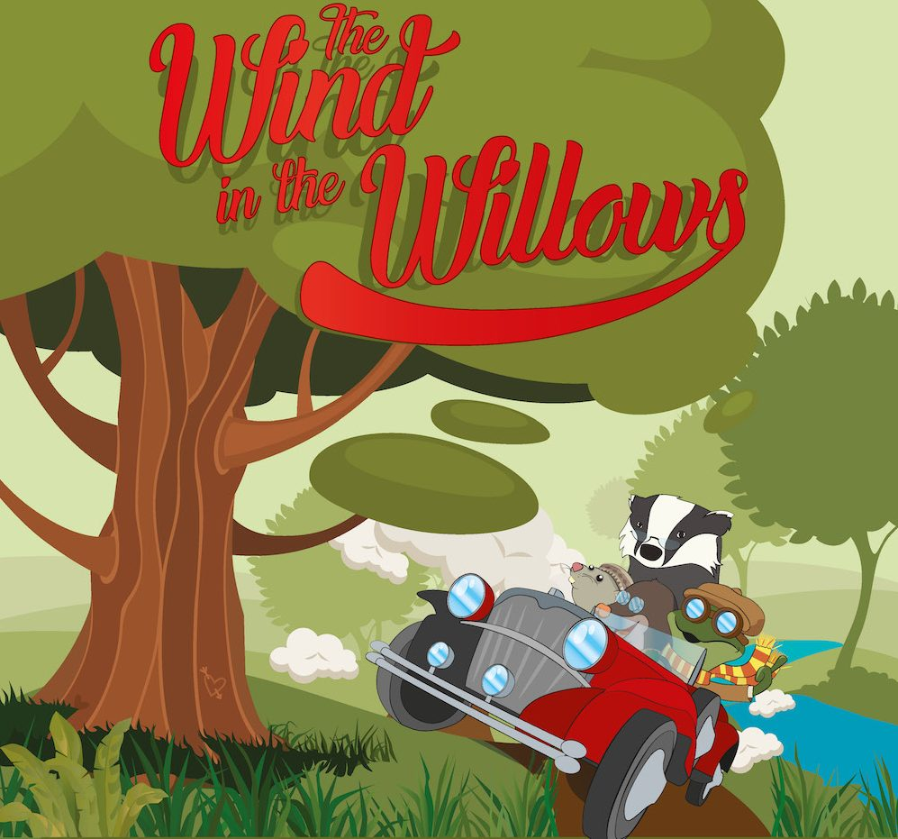 wind in the willows cover illustration