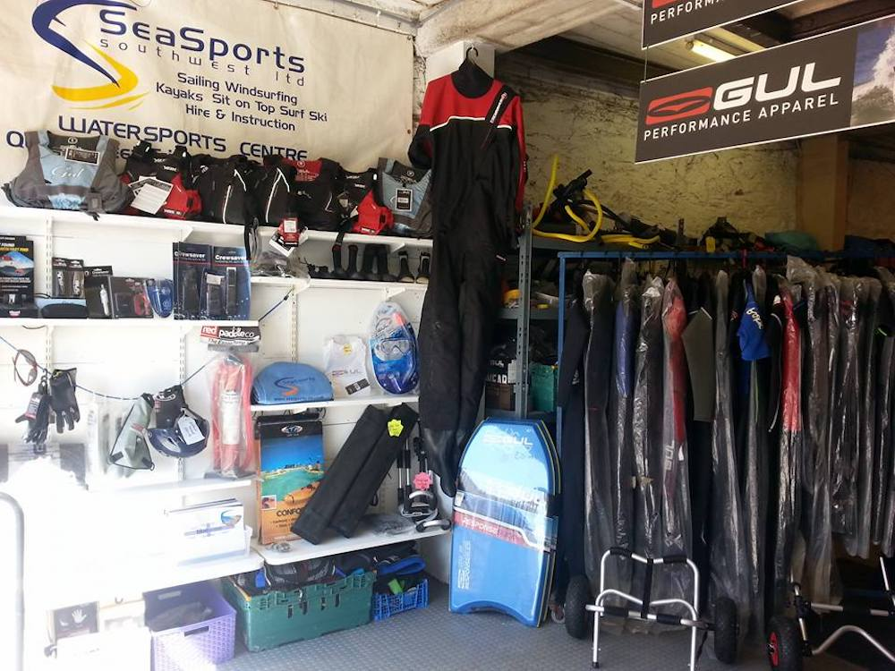 wetsuits lifejackets and watersports kit