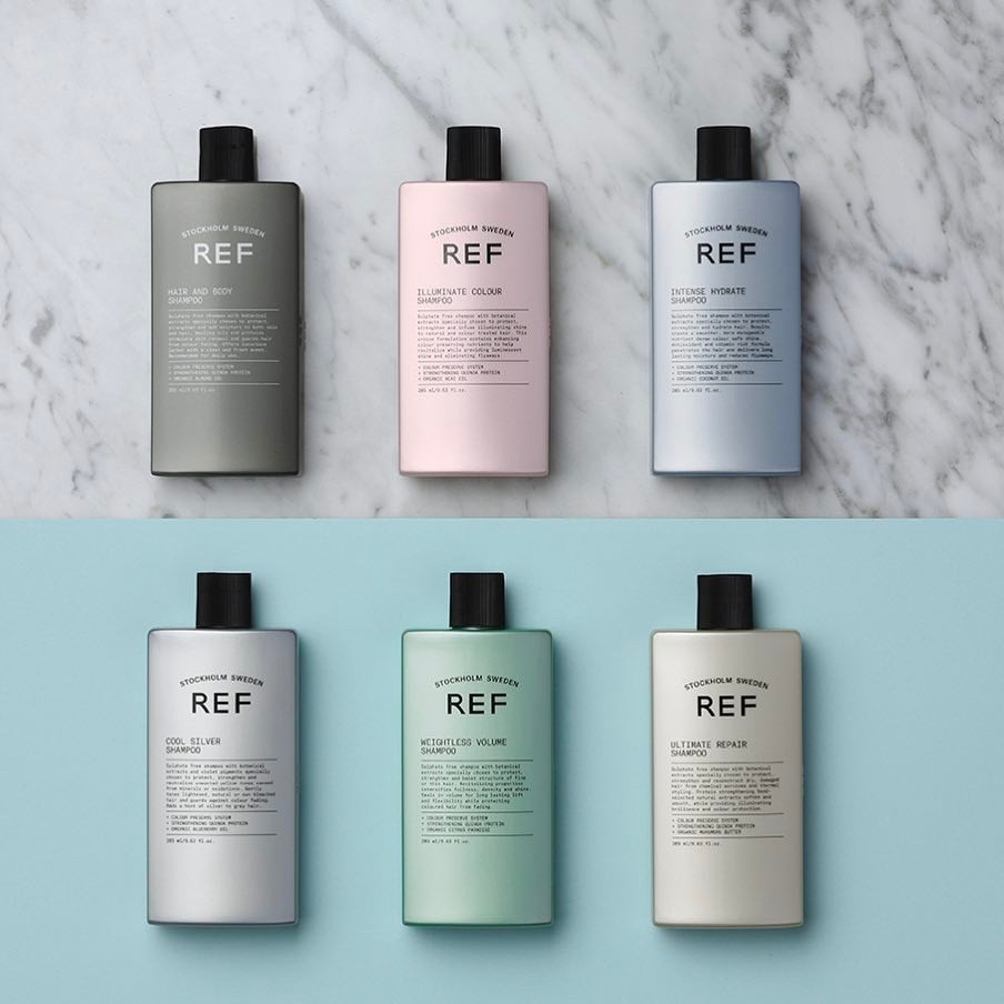 REF stockholm sweden haircare products