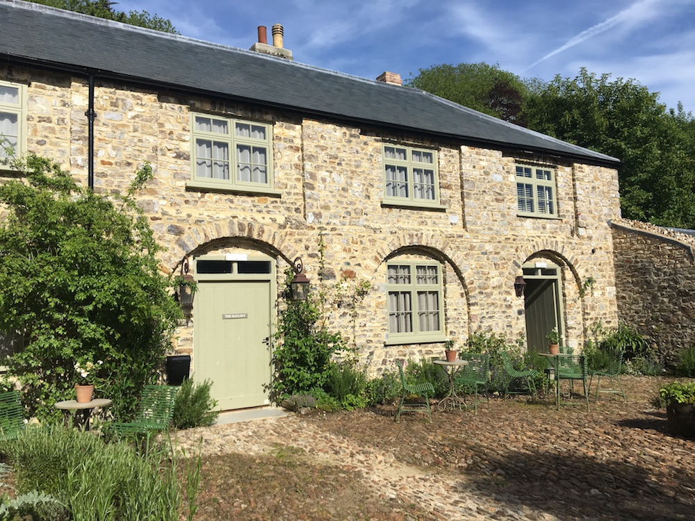 converted stable block and coach house