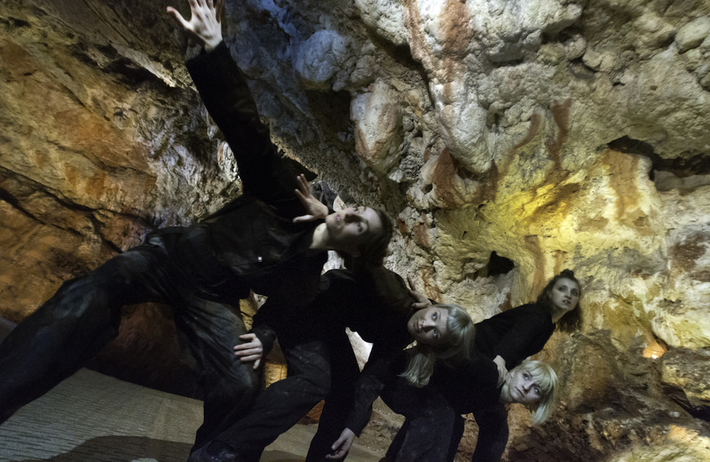 dancers in caves