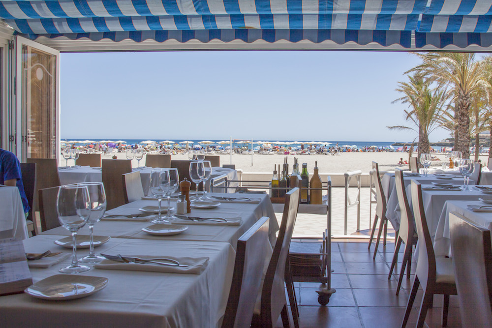 restaurant on beach