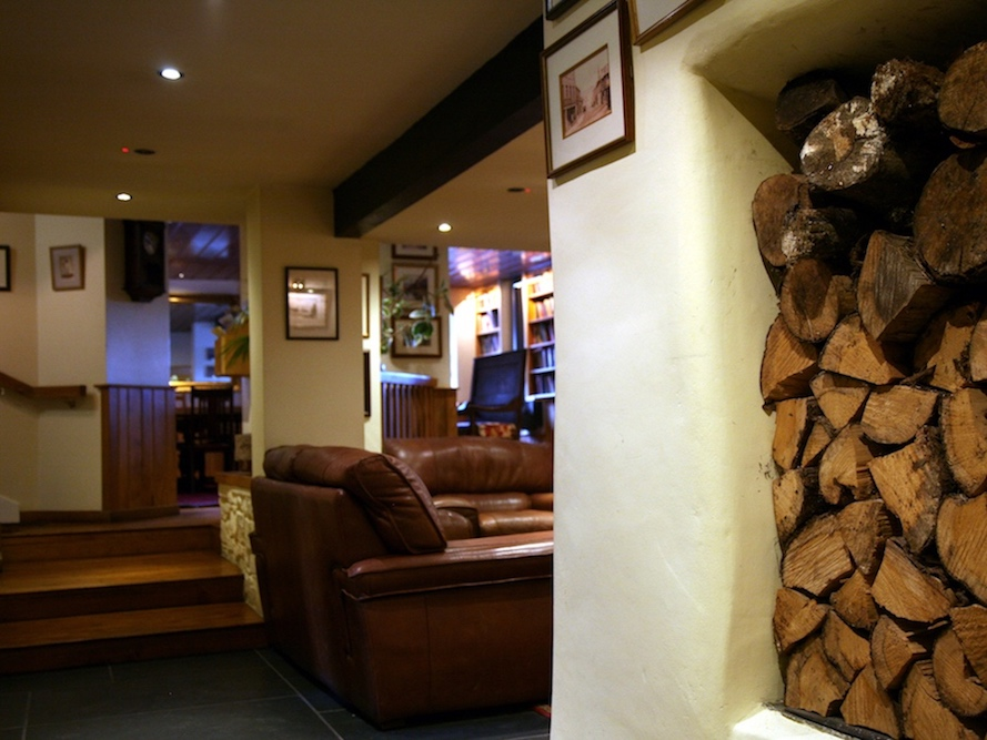 Log Pile and sofas
