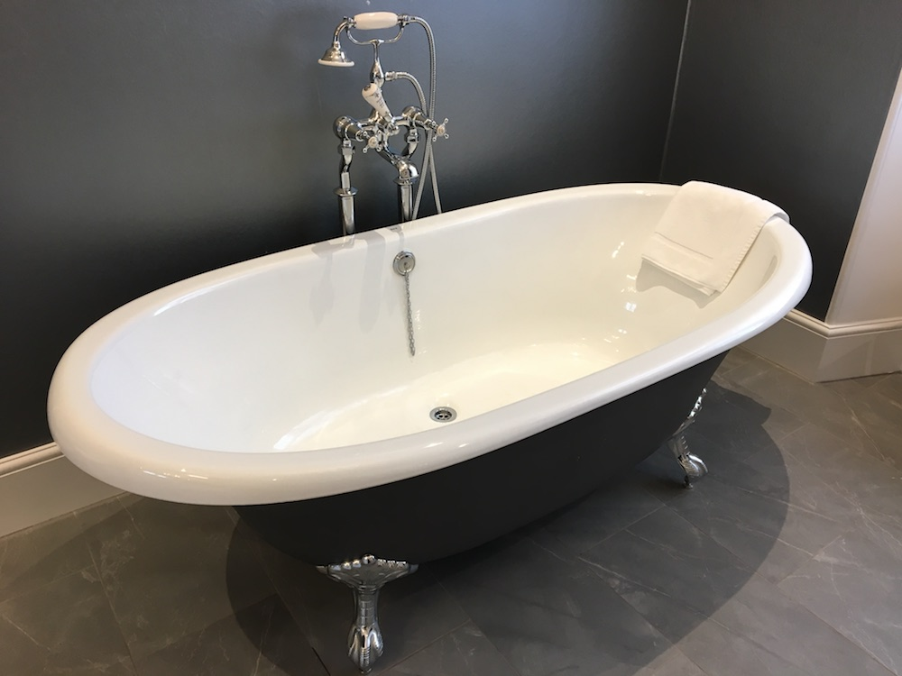 Bath grey colour scheme