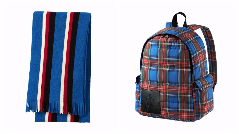 scarf and rucksack