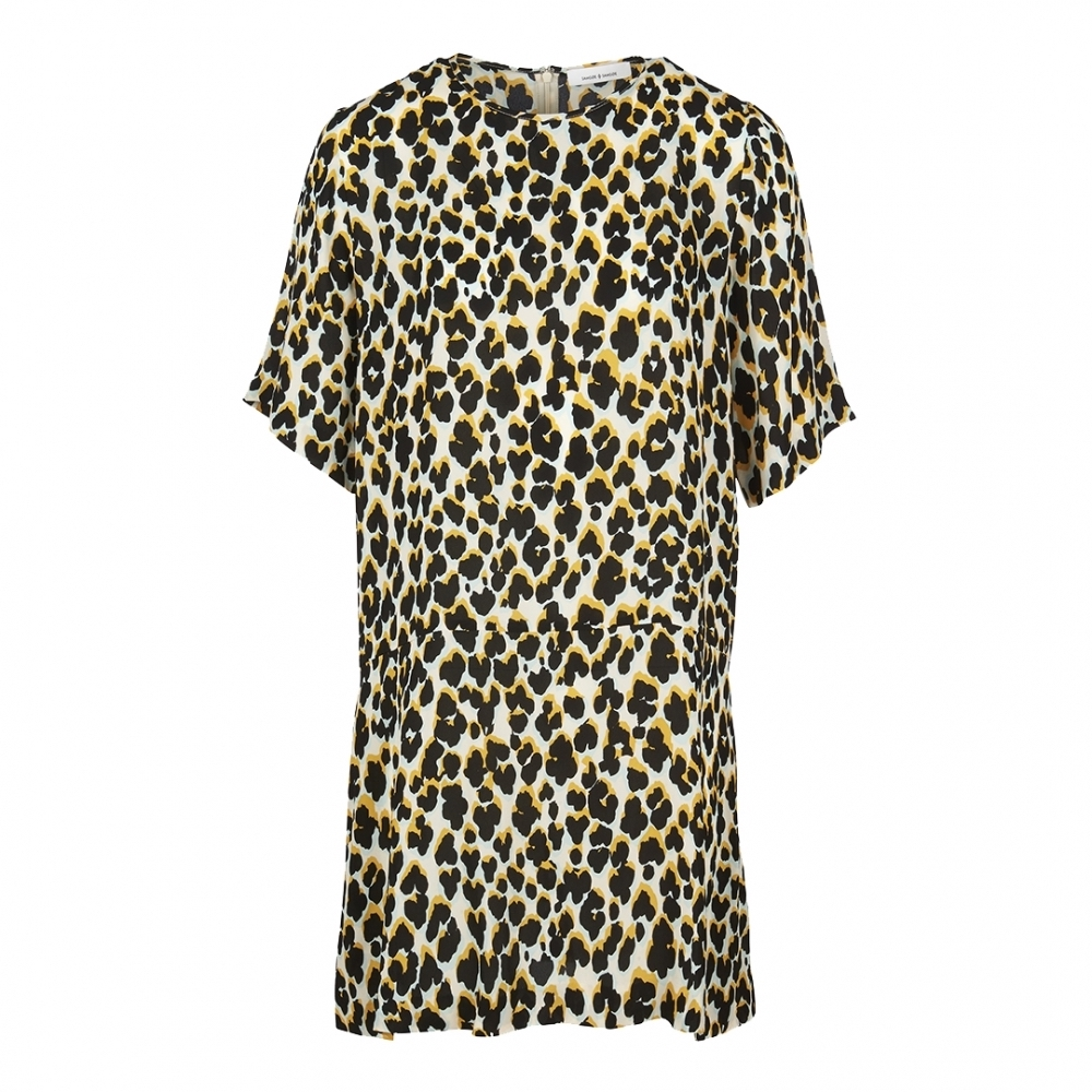 Lorna Ruby Leopard Print Dress