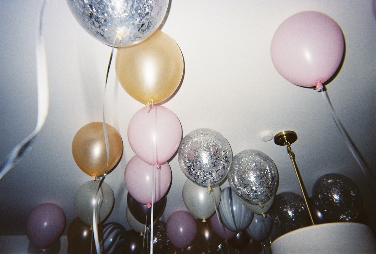 Rawpixel New year balloons