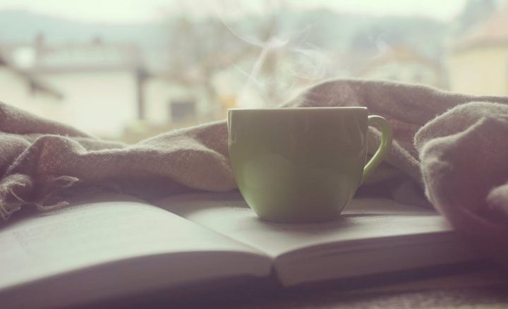 coffee cup book