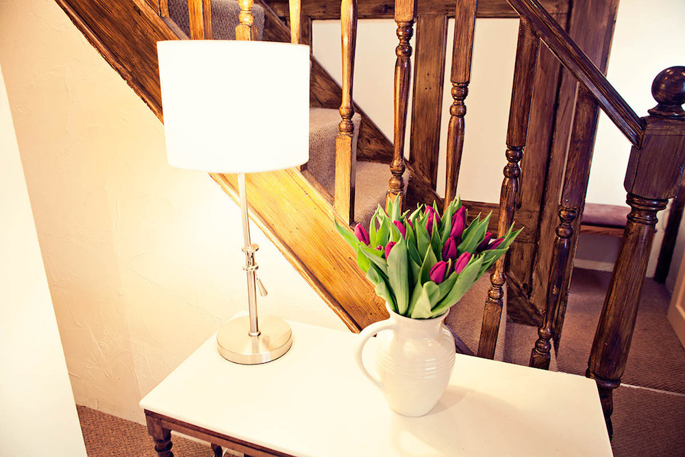 table lamp stairs