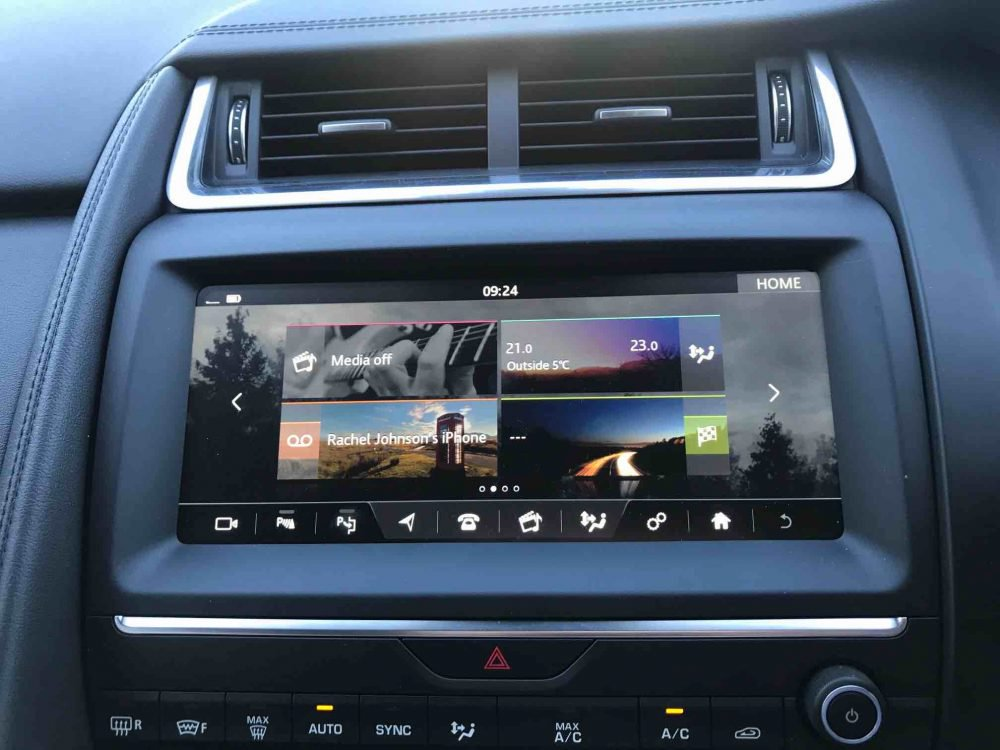 car entertainment system