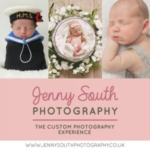 Jenny South Photography pink logo
