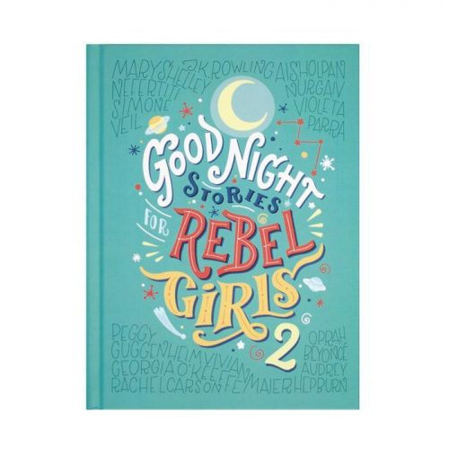 turquoise good night rebel girls book