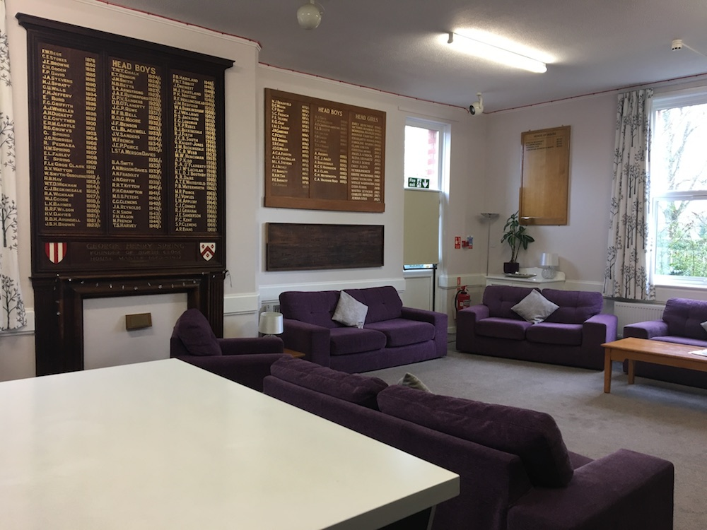 interior boarding common room