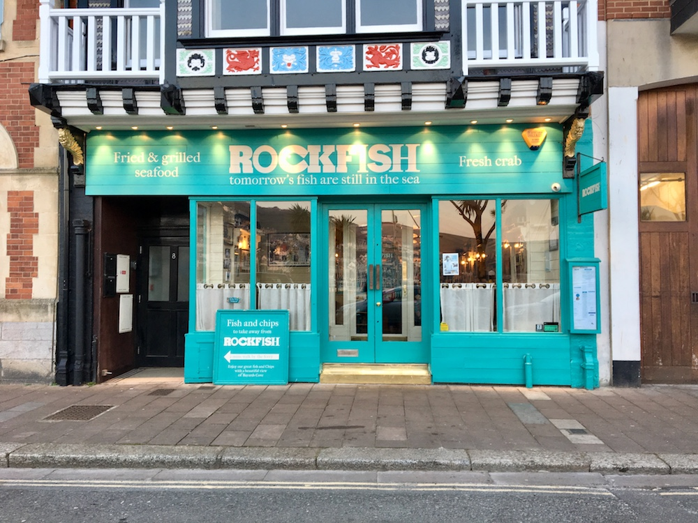 rockfish turquoise exterior
