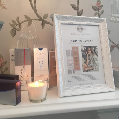 photo frame on mantlepiece with wallpaper