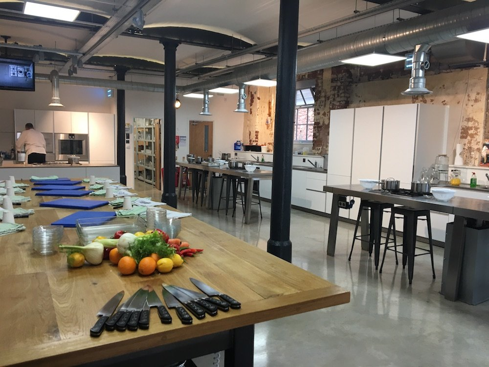 interior cookery school