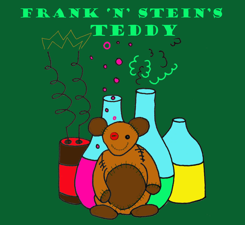 frank n stein's teddy graphic