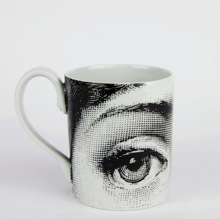 mug with face on