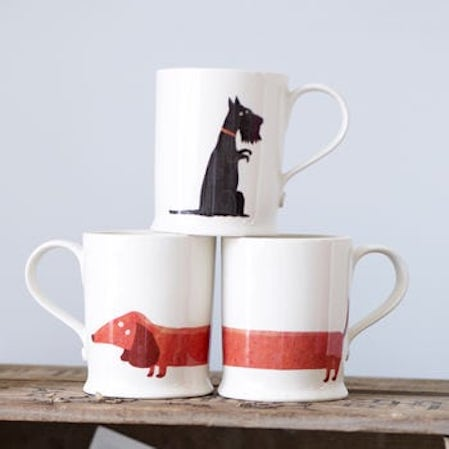 mugs with dog design
