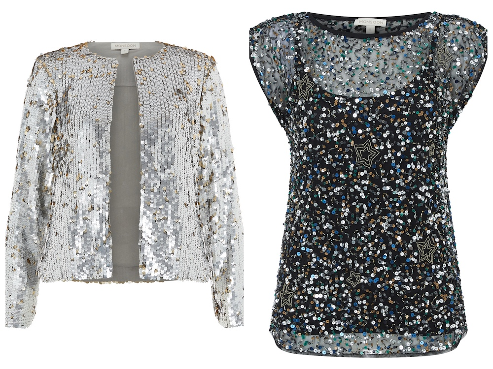 sparkle top and jacket