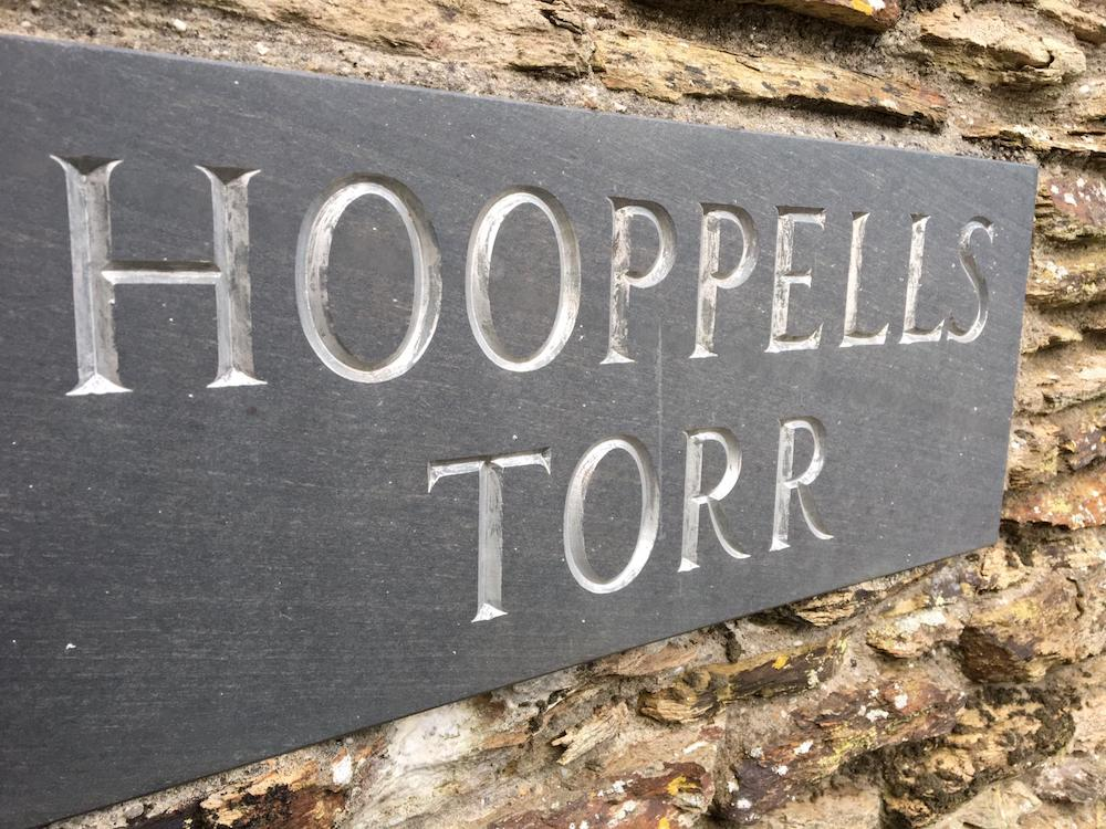 hooppevlls torr sign