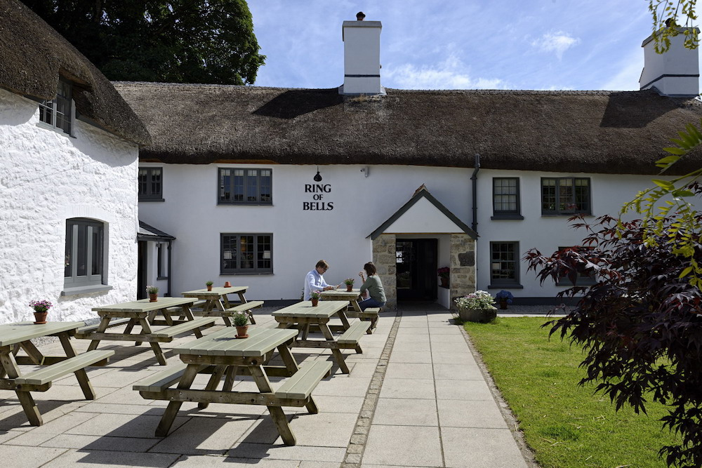 exterior thatched pub ring of bells
